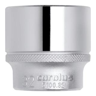 Carolus Steckschlüsseleinsatz 1/2´´, 9 mm - broschei