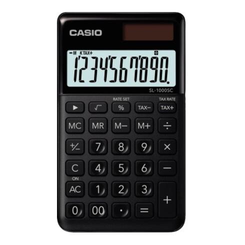 CASIO Taschenrechner SL-1000SC-BK schwarz