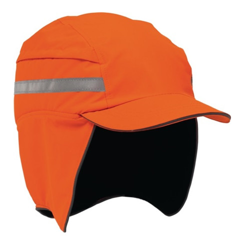 Casquette de protection First Base 3 - Winter 52-65 cm orange de signalisation