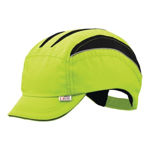 Casquette de protection VOSS-Cap neo 53-61 cm jaune de sécurité nylon EN812:2012