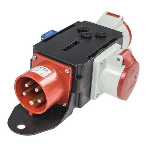 CEE-Adapter MIXO MOSEL 1xCEE-Stecker 400V,32 A,5-polig IP44 AS-SCHWABE