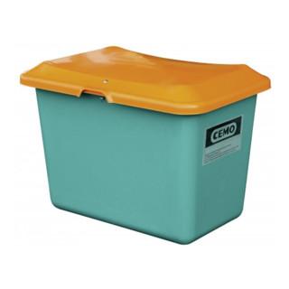 Cemo Streugutbehälter Plus3 ohne Entnahme grün/orange