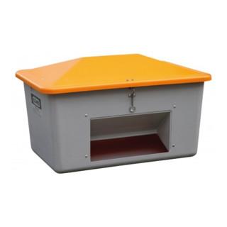 Cemo Streugutbox mit Entnahme grau/orange