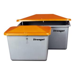 Cemo Streugutbox ohne Entnahme grau/orange