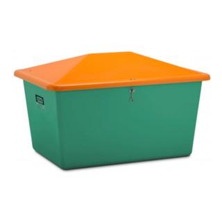 Cemo Streugutbox ohne Entnahme grün/orange