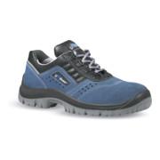 Chaussure de sécurité Boss T. 43 bleu/noir cuir velours S1P SRC EN ISO 20345 U-P