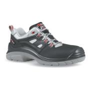 Chaussure de sécurité Corner taille 43 noir/gris/rouge cuir lisse S3 SRC EN ISO