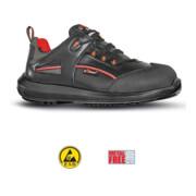 Chaussure de sécurité Iroko T. 43 noir cuir lisse / surembout S3 SRC ESD EN ISO