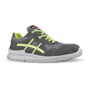 Chaussure de sécurité Nico taille 43 gris/vert cuir velours / matériau mesh S1P