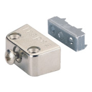 Connecteur pour caisson Hettich TRAPEZ zinc moulé sous pression vern. Partie inférieure avec dentelures