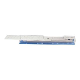 Cutterklinge B.18mm S.0,5mm eisgehärtet i.Spenderbox 10St./VE