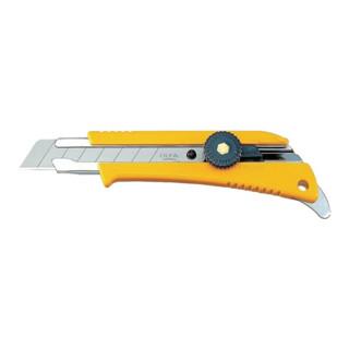 Cuttermesser Klingenbreite 18mm L.155mm m.Feststellrädchen OLFA
