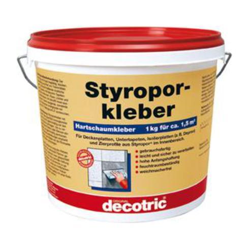 Decotric Styroporkleber 4kg gebrauchsfertig