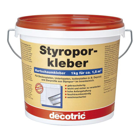 Decotric Styroporkleber 8kg gebrauchsfertig