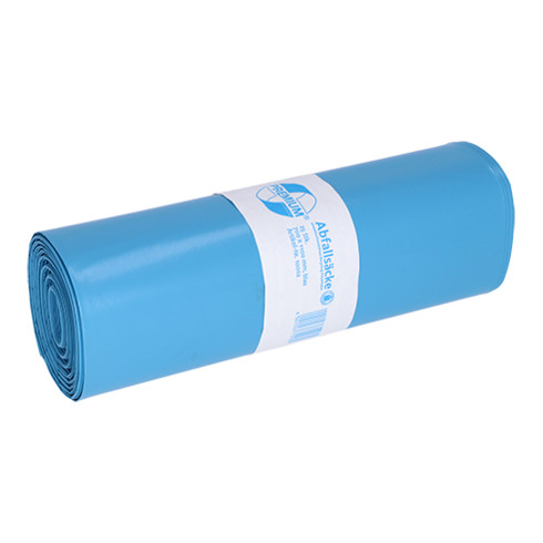 Deiss Premium - Abfallsäcke aus Recycling-LDPE 120 l blau