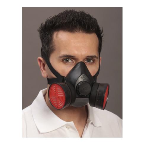 Demi-masque de protection respiratoire Ekastu Polimask 100/2 EN 140 sans filtre