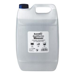Destilliertes Wasser 5l Kanister ALGOREX