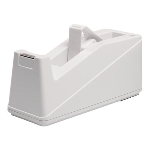 Dévidoir de table plastique blanc pour l. de bande 25 mm