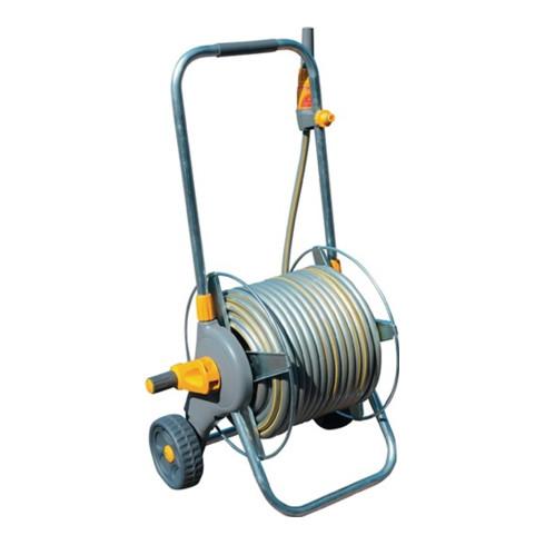 Dévidoir mobile p. tuyau PRO 2436 AG 13,19,25 mm 1/2,3/4,1 po. plastique/métal c