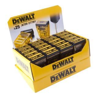 DeWalt Display 20 x DT7961 Box 25xT20 25 mm