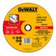 DeWalt High Performance Trennscheibe Metall gekröpft 2.8 mm-1