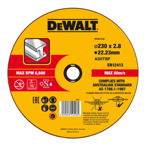 DeWalt High Performance Trennscheibe Metall gekröpft 2.8 mm