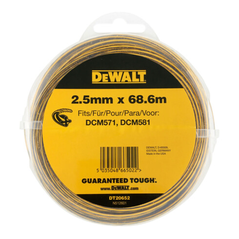 DeWalt Trimmer-Faden DT20652-QZ