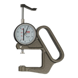 Dickenmessgerät K 50/3 C 0-30mm Abl. 0,1mm fl. 10=cmm Käfer