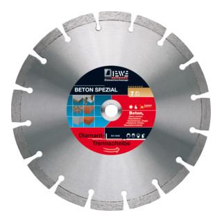 Diewe Diamanttrennscheibe Beton Spezial Ø 230 Bohrung 22,23