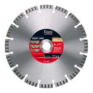 Diewe Diamanttrennscheibe EasyLine Ø 125 Bohrung 22,23