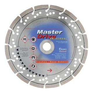 Diewe Diamanttrennscheibe Master Drive Universal Ø 125 Bohrung 22,23