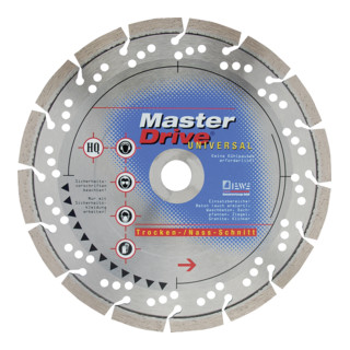 Diewe Diamanttrennscheibe Master Drive Universal Ø 230 Bohrung 22,23