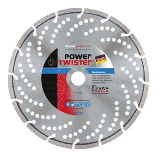 Diewe Diamanttrennscheibe Power Twister Eisen Ø 125 Bohrung 22,23