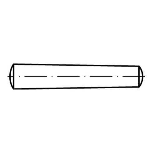 DIN 1 Kegelstifte Stahl B S