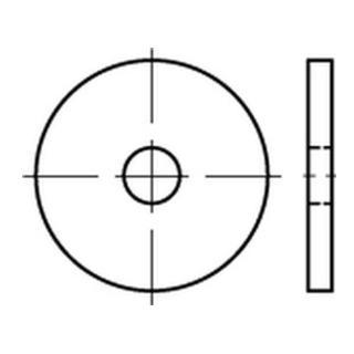 DIN 1052 Scheiben f. Holzverbinder A 2 23 x 80 x 8 A 2 S
