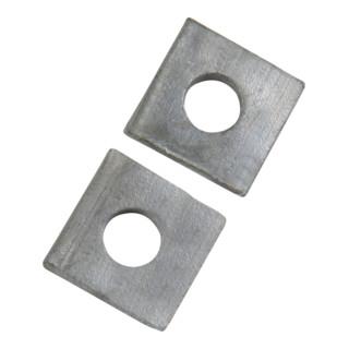 DIN 435 Scheibe für Doppel-T-Träger vierkant keilförmig