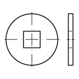 DIN 440 Form V Scheibe