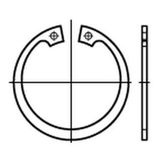 DIN 472 Sicherungsringe 1.4122 36 x 1,5 rostfreiei S