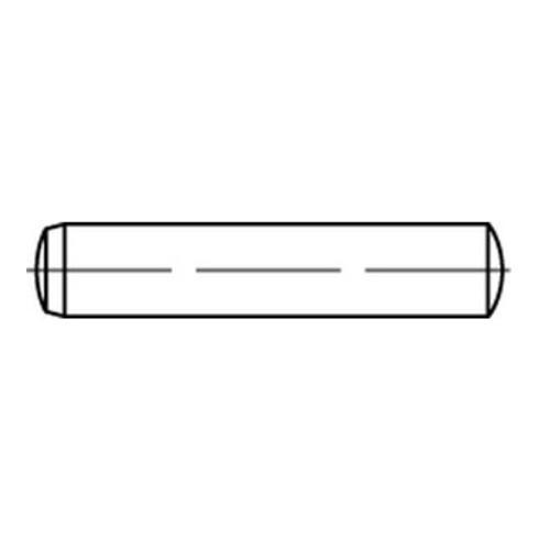 DIN 6325 Zylinderstifte, Stahl, blank