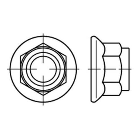 DIN 6926 8 M 12 galv. verzinkt gal Zn S