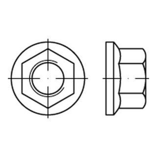 DIN 74361 Flachbundmutter Form B