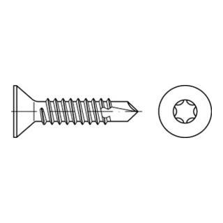 DIN 7504 Form PE Senkkopf-Bohrschraube VG 4,8x16 Stahl galvanisch verzinkt T25