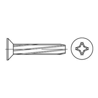 DIN 7516 Form D Senkkopf-Gewindeschneidschraube VG