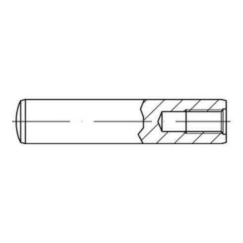 DIN 7979 / ISO 8735 Zylinderstift mit Innengewinde, Stahl, blank