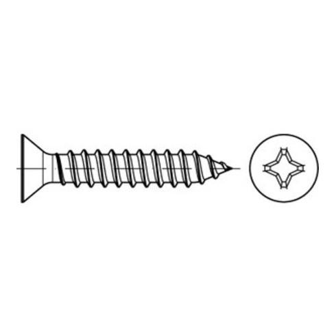 DIN 7982 Form C Senkkopf-Blechschraube VG 2,9x9,5 Stahl galvanisch verzinkt PH