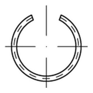 DIN 7993 Federstahl-Draht B 12 S