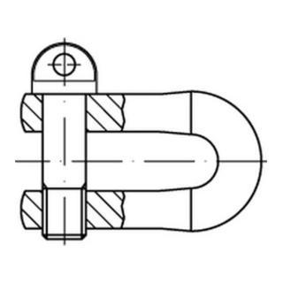 DIN 82101 Stahl A GR. 0,6 galv. verzinkt gal Zn S