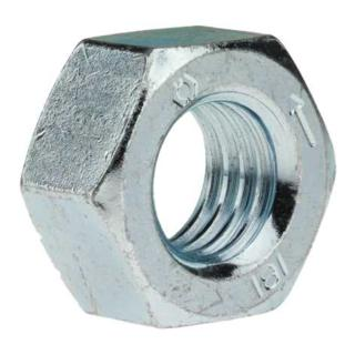 Sechskantmutter DIN 934 M 10 Stahl galvanisch verzinkt