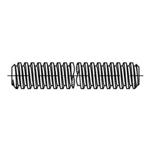 DIN 975 Gewindestange Trapezgewinde, Stahl, blank