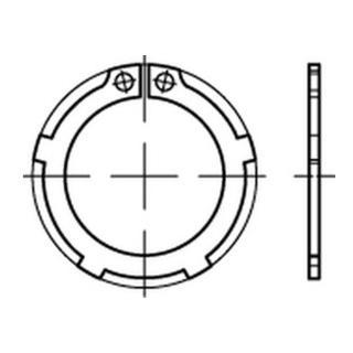 DIN 983 Sicherungsring mit Lappen